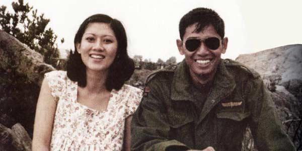 foto presiden republik indonesia dan istri waktu masih muda foto ...