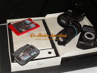 bolo de Apple, MacBook, Nokia, Samsung, Sony, Bolo Decorado, Bolo 3D