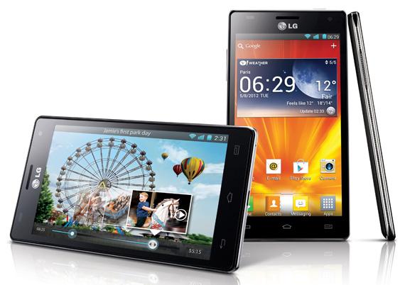 Daftar Harga Hp LG Android Agustus 2012