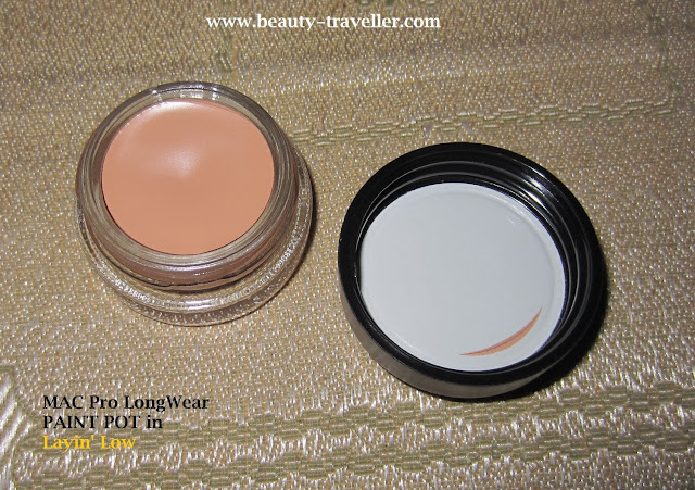 Review mac pro longwear paint pot in layin 39 low beauty for Mac pro longwear paint pot painterly