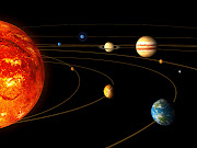 Artist impression of the solar system [Credit: ESA]
