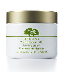 Origins debuts Youthtopia Lift Firming creams
