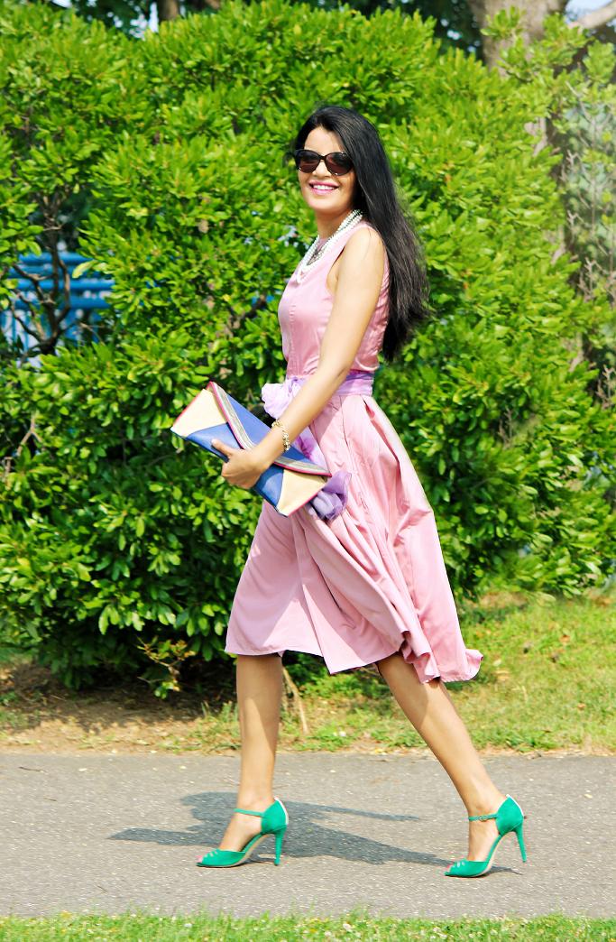 eShakti Dress For Weddings, Sarah Jessica Parker for Nordstrom Shoes, SJP Nordstrom Shoes, SJP 'Ina' Pumps, Dress Ideas For Wedding Guests