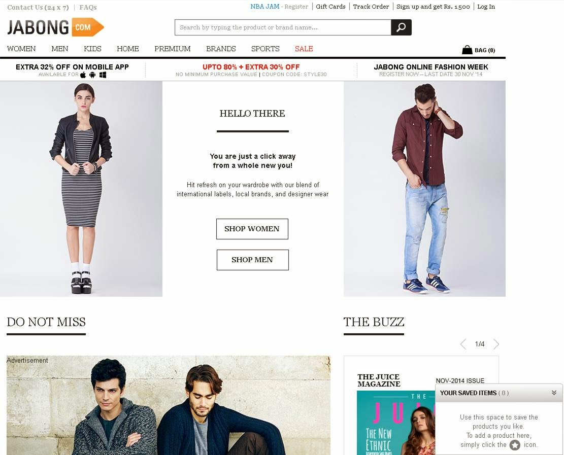Not All Moonshine!: My Shopping Experience on Jabong