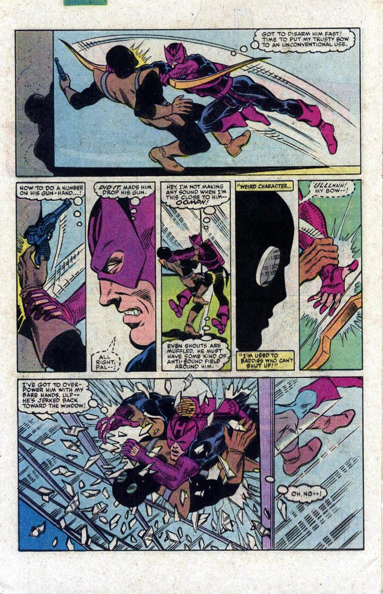 Hawkeye (1983) Issue #2 #2 - English 21
