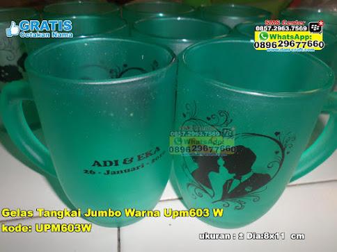 Gelas Tangkai Jumbo Warna Upm603 W grosir