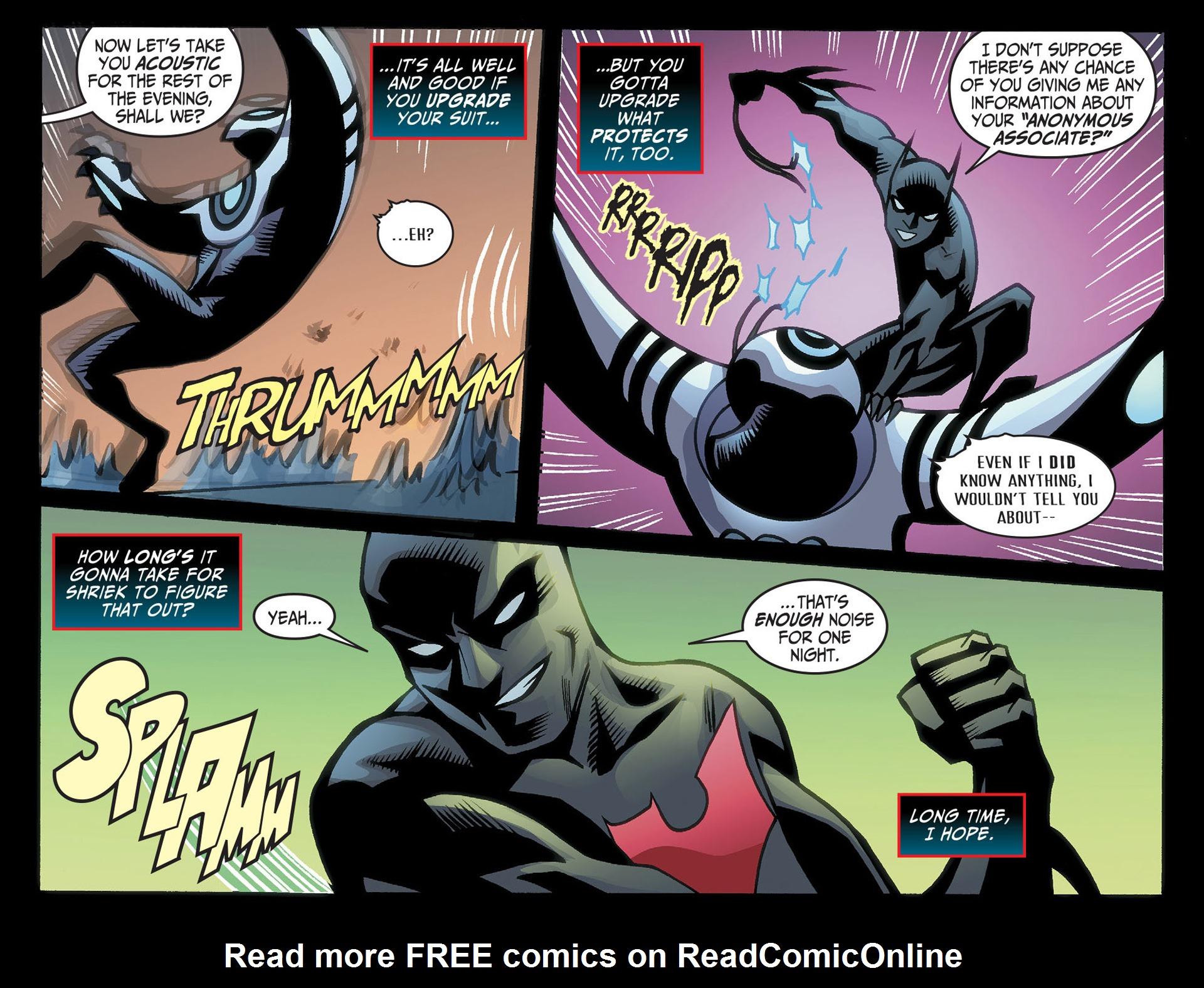 Batman Beyond (2012) Issue #22 #22 - English 14