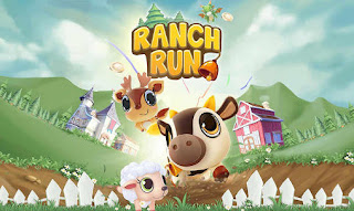 Screenshots of the Ranch run for Android tablet, phone.