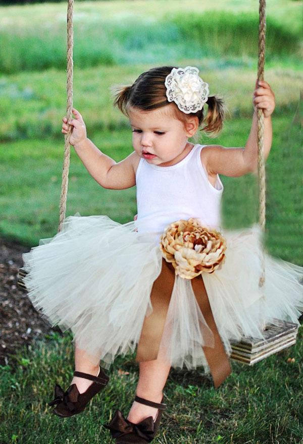 Make a Tutu Flower Girl