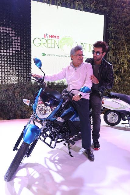 Ranbir Kapoor Xtreme 200 S Hero MotoCorp