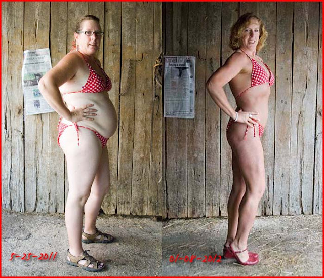 Lose fat from belly