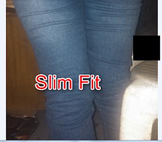 berkendara memakai celana slim fit