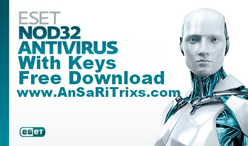 Eset NOD32 with Serial Keys Latest Free Download Crack