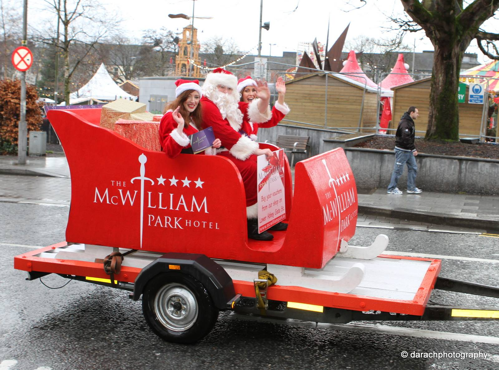 Mc William Park Hotel sleigh