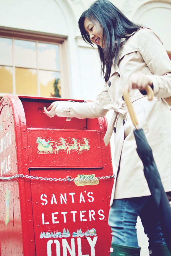 mailbox for letters to santa