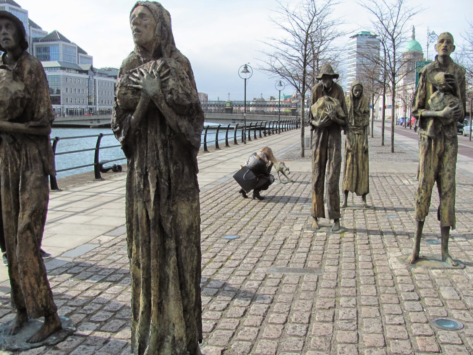 Riverside Famine Memorial Dublin, Ireland