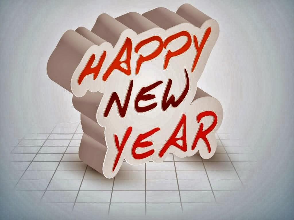 Writing stylish happy new year