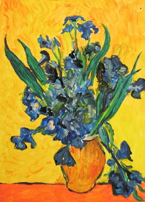 Van Gogh Irises Study