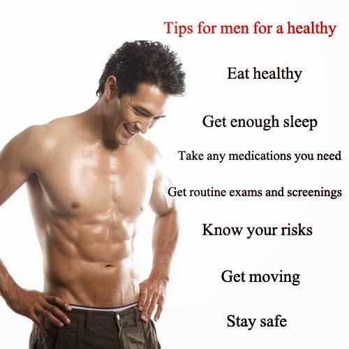 Man Healthy Body