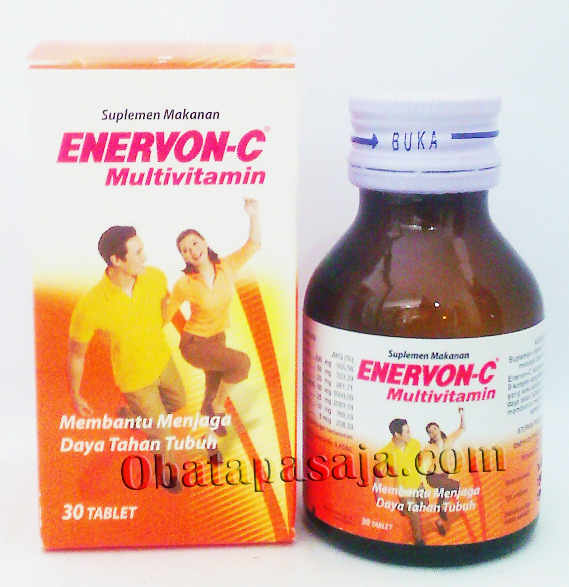 Manfaat dan Komposisi Enervon C Multivitamin