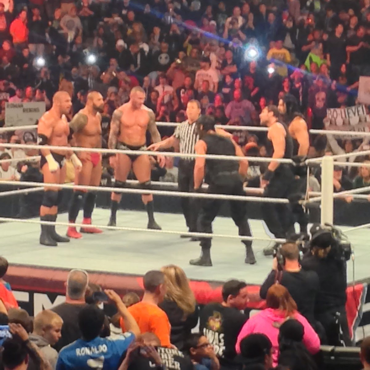 Dellah s jubilation a day of extreme family fun at the wwe extreme rules event wwe giveaway