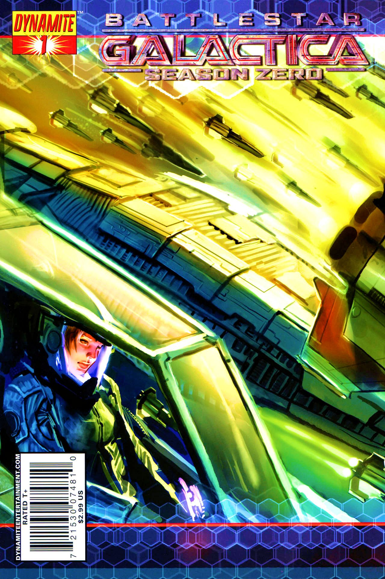 Battlestar Galactica: Season Zero 1 Page 1