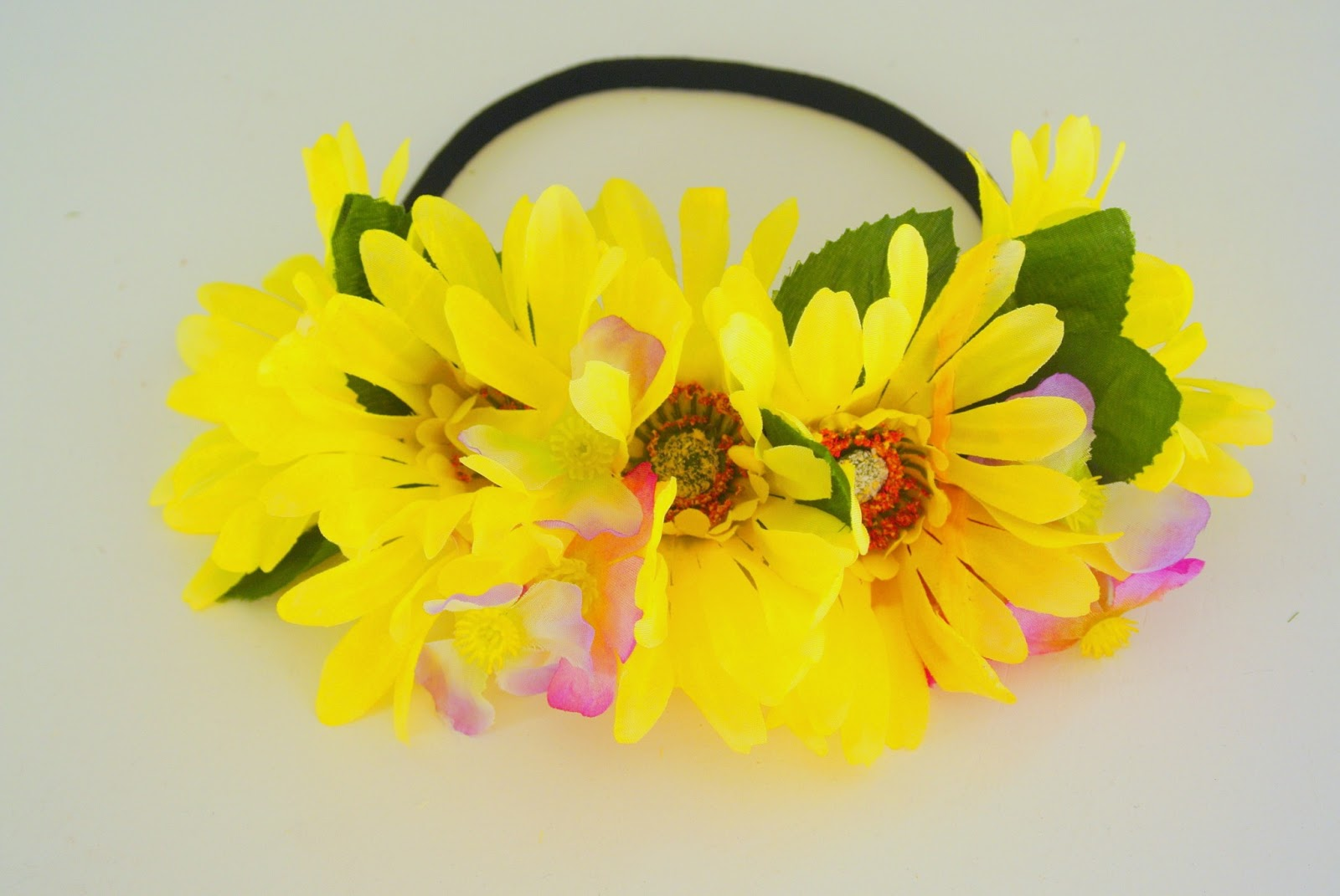With love tiffany tutorial diy flower headbandcrown mightylinksfo