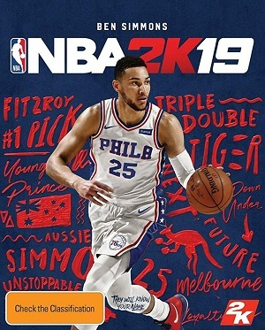 NBA 2k19 Torrent torrent download capa