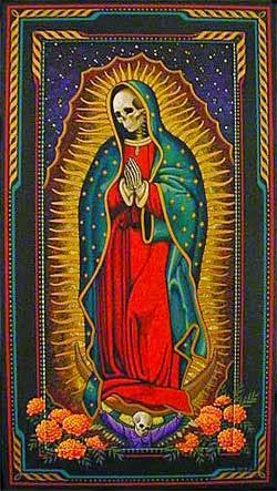 cuadro de la santisima Muerte