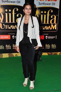 Actress Swathi Reddy Pictures in Balck Jeans at IIFA Utsavam Awards 2016  25284.jpg