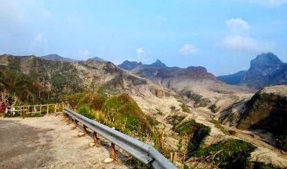 tempat wisata gunung kelud saat ini di kediri