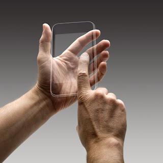 Телефон с прозрачным экраном и сенсорными возможностями с обеих сторон может стать прорывом среди смартфонов.