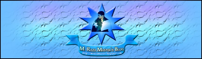M. Raza Master's Blog