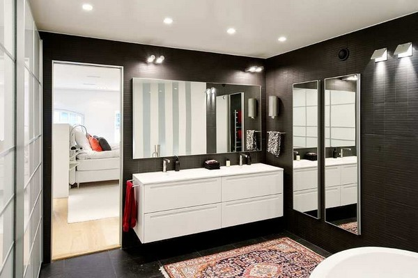 Black and White Contemporary Interiors Design Ideas ~ Home Design
