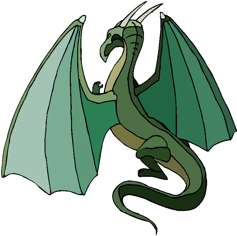 Green Dragon Free Clipart