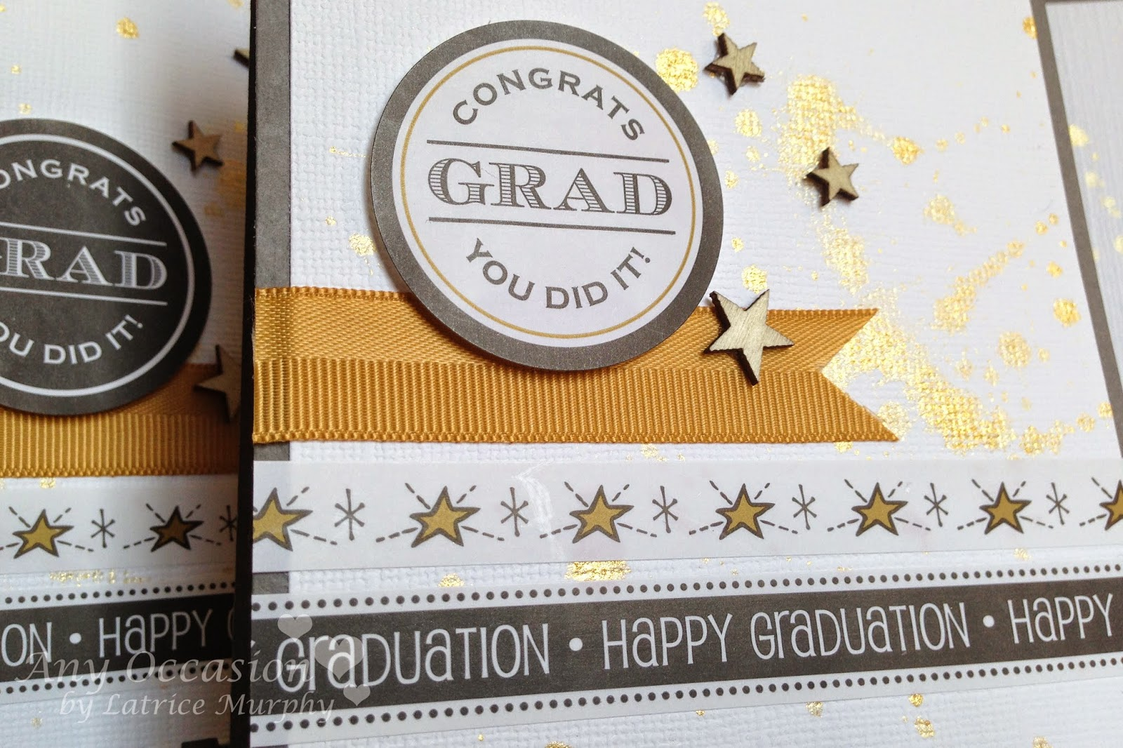 SRM Stickers Blog - Graduation Cards by Latrice - #stickers #take2 #graduation #cards #borders