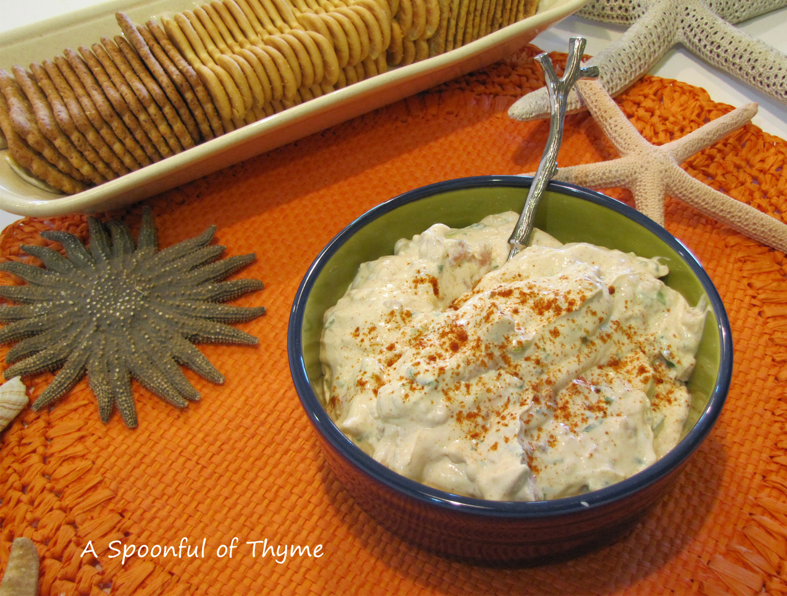 Spoonful of Thyme: Smokey Clam Dip