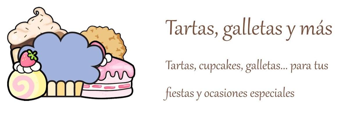 Tartas, galletas y más