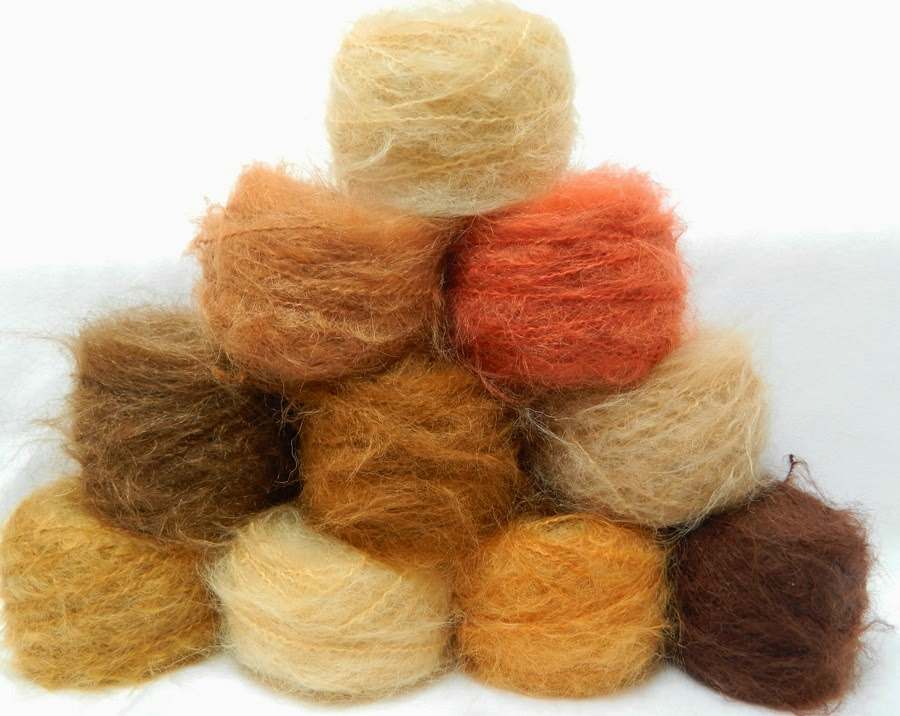 Mohair Yarn : with my favourite yarn which is the DollyMo Chunky Brushed; This yarn ...