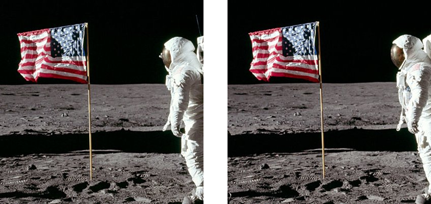 moon landing hoax flag - photo #5