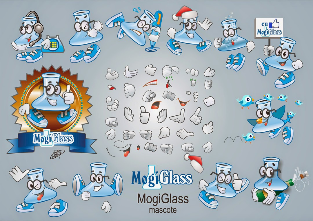 Mascote da Mogiglass