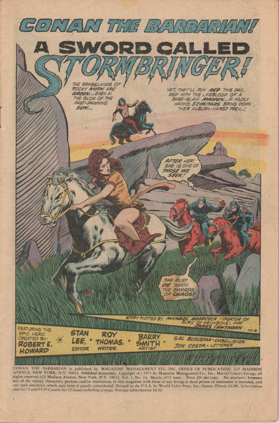 Conan the Barbarian (1970) Issue #14 #26 - English 2
