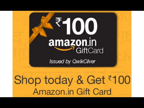 Gift Card for New Account with Amazon.in