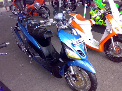 Mio Sporty 2005 Modifikasi Road Race