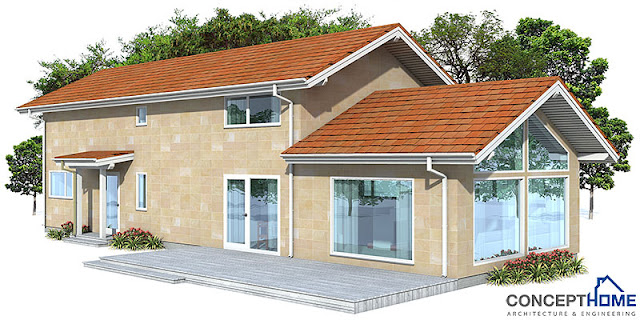 Affordable home plans february 2013 for Cost effective home designs