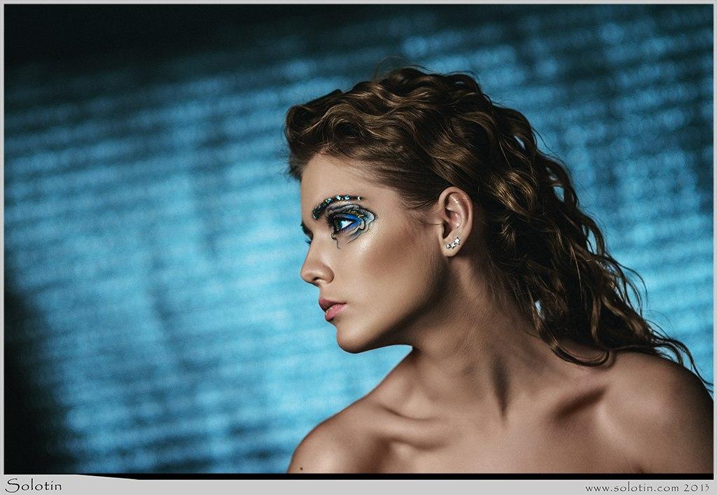 девушка, макияж, креативный, Тамбов, студия, фото, Алина Жигулина