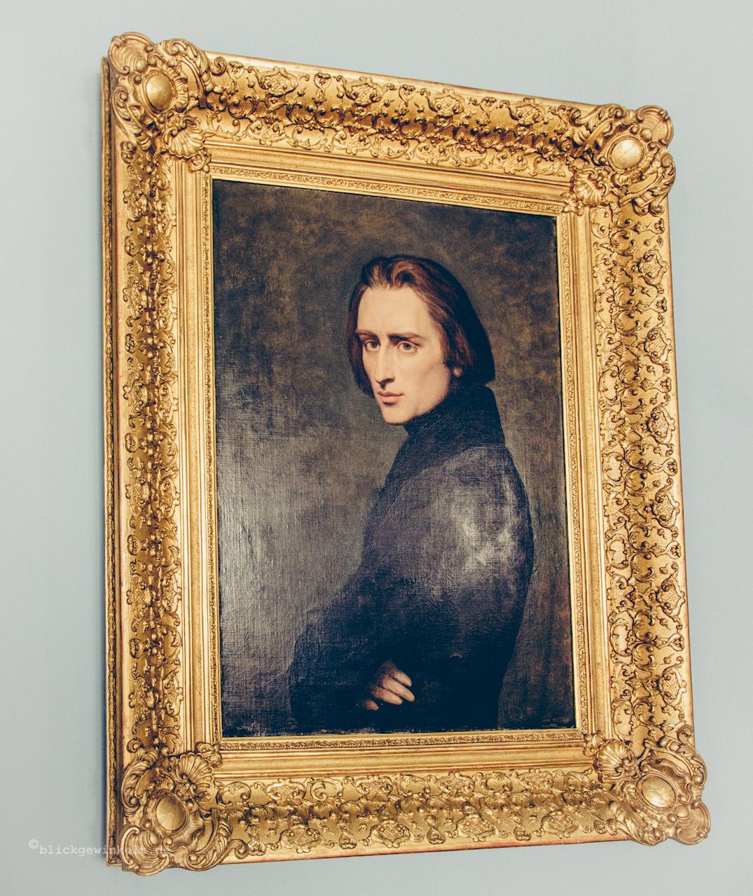 Gemälde Franz Liszt