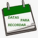 Datas para recordar