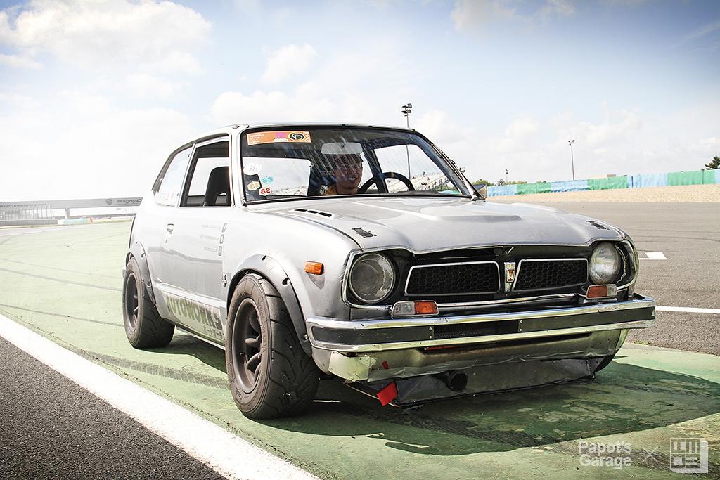 The french autodrome papot 39 s garage 39 s civic sb1 for Garage honda montlhery