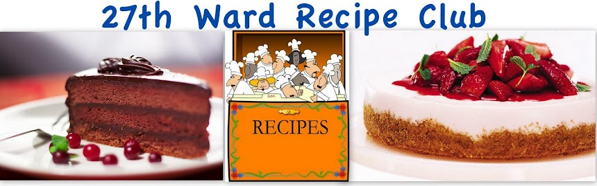 27th Ward Recipe Club